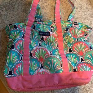 Simply southern beach/tote bag
